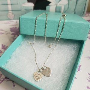 Tiffany & co mini hearts necklace